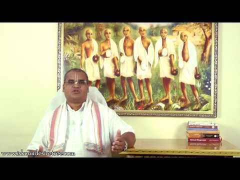 How to develop strong determination ? - Vedanta Chaitanya Prabhu