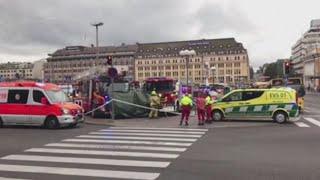 Finland attack: Two killed in Turku stabbing spree