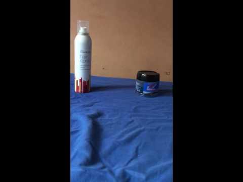 Fact : Hair spray vs Hair gel