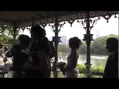 Gareth and Caroline McGreavy Wedding in Central Park, New York City (part1)