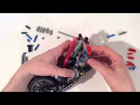 How To Build LEGO 42036 alternate CHOPPER