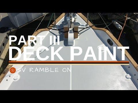 Deck Paint Part III