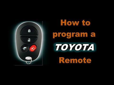 🤠   DIY: How to program a Toyota Sienna Remote Entry Key FOB. Easy to follow Walk Through Guide