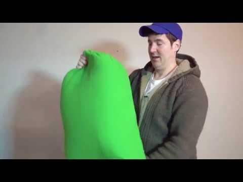 Westcott WRINKLE-FREE Green SCREENS!