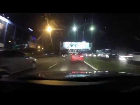 GOPRO #7 : Honda Civic vs Proton Saga LMST - Saga kena tapau dengan Civic
