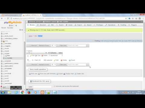 show value in textbox from database  -  php and mysql tutorial
