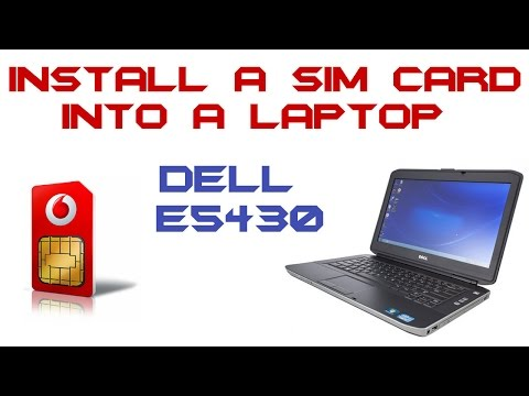 How To Install A Sim Card Into A Laptop - Dell Latitude E5430