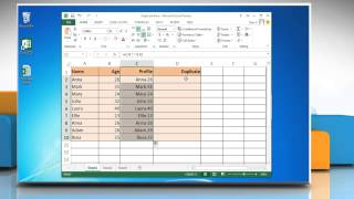 How To Use Excel Formulas To Find Duplicate Rows In Excel 2013