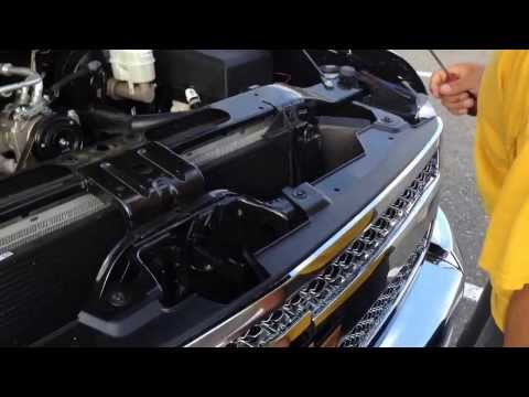 how to remove the chevy emblem on a 2013 silverado