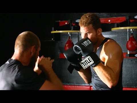Blake Griffin Grapples with UFC Star Donald