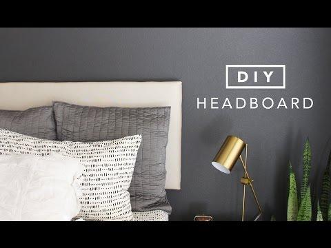 DIY Building a Headboard