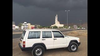 #x202b;تطعيس جيب شيروكي رمال بوشر Off Road Jeep Cherokee#x202c;lrm;