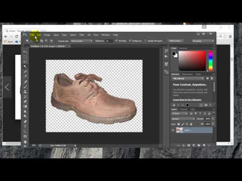 How to turn an image from Google into transparent background