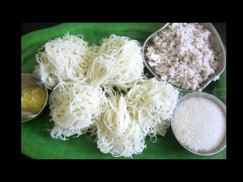How to make soft Idiyappam || Easy Breakfast Menu || Tamil Food Corner