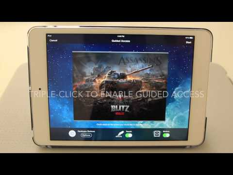Guided Access: Prevent Auto-Sleep on iPad and iPhone