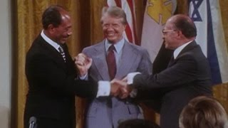 Jimmy Carter hopes Trump pushes Mideast peace