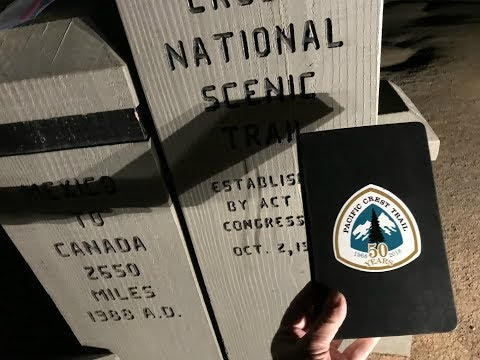 PCT 2018 EP 002 - Friday the 13th Creepy Southern Terminus at Night