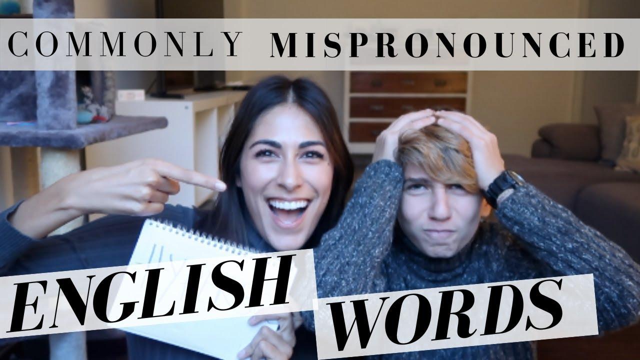 My Italian nephew tries to pronounce English words!