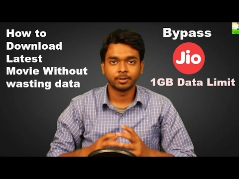 Download Latest Unlimited Free movie without wasting data (Bypassing Jio 1GB Limit)