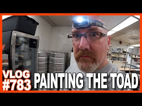 PAINTING THE TOAD!!!
