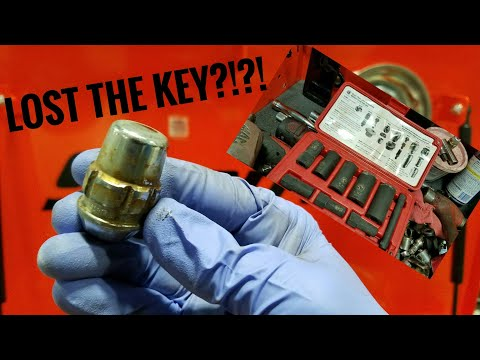 How to remove wheel locks with NO KEY!!