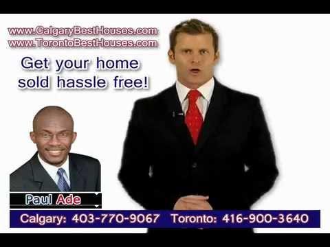 Agent for Real Estate Toronto or Calgary Canada