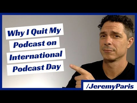 Why I Quit the Veteran Resource Podcast on International Podcast Day