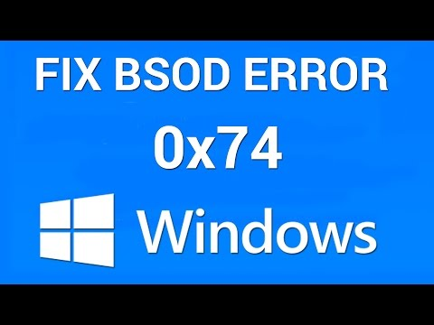 How to Fix BSOD Bad System Config Info 0x00000074