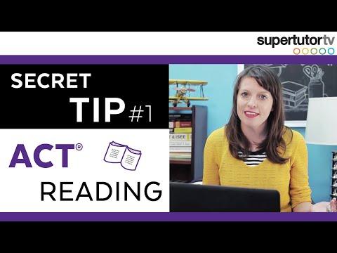 ACT READING: #1 SECRET TIP