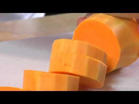 How To Peel and Chop Butternut Squash