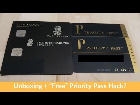 "Chase Ritz-Carlton Unboxing + ""Free"" Priority PassHack?"