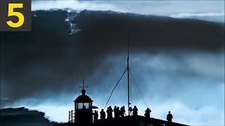 Top 5 Largest Waves Caught on Video