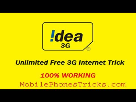 Idea Free Internet Trick 2018 Unlimited by Rehmat Ullah