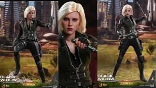 Avengers Infinity War Hot Toys Black Widow 1/6 Scale Movie Figure Reveal!