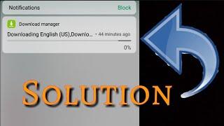 downloading english us notification in vivo