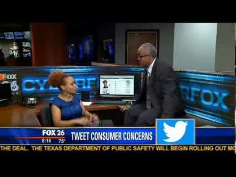 How to Use Twitter for Customer Service Complaints- Crystal Washington Discusses on Fox 26