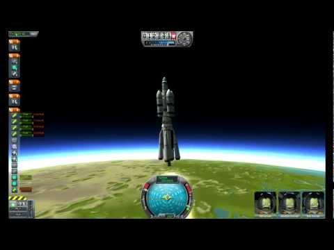 Kerbal Space Program - Mun Landing & Return to Earth