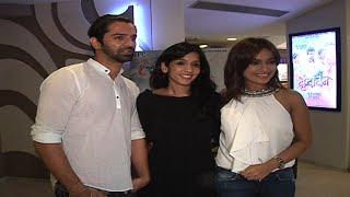Surbhi Jyoti talks about her web series along with Barun Sobti and Karan Wahi