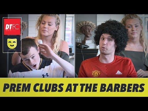 When Premier League clubs go to the barbers