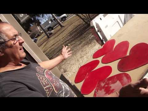 Greg Zanis Finds Free Labor On Craigslist That He Will Use to Make Hearts for Crosses.