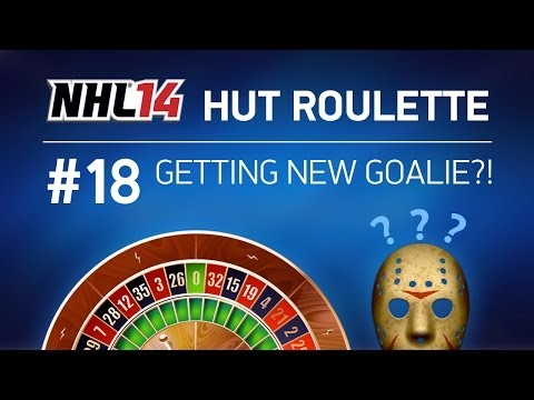 NHL 14 HUT Roulette - ep. 18 - GETTING NEW GOALIE?!