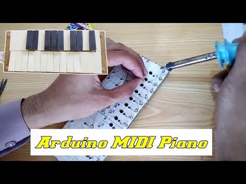 How to Make Arduino MIDI Piano | Arduino based Piano | Electronic Projects