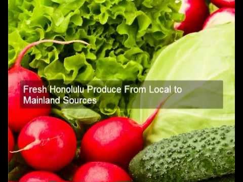 Buy Fresh Produce Honolulu | 808-842-7171 | Ham Produce and Seafood Inc