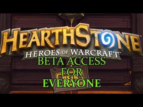 Hearthstone - Beta Access for Everyone