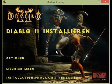 GDPC: Diablo II 2 auf Windows XP + Vista + 7 + 8 spielen 32-Bit + 64-Bit Version