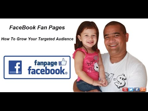 How To Brand Yourself as The Expert With FaceBook Fanpages - Grow Your Target Audience