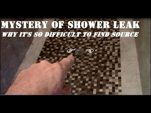 WHY DO SHOWERS LEAK ???