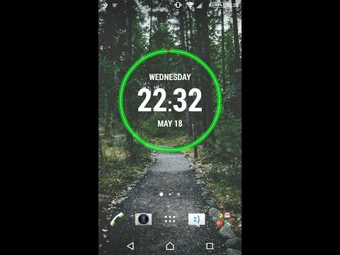 How to create Different styled widgets in android