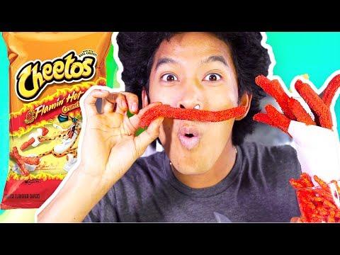 How To Make Hot Cheetos Churros!!!