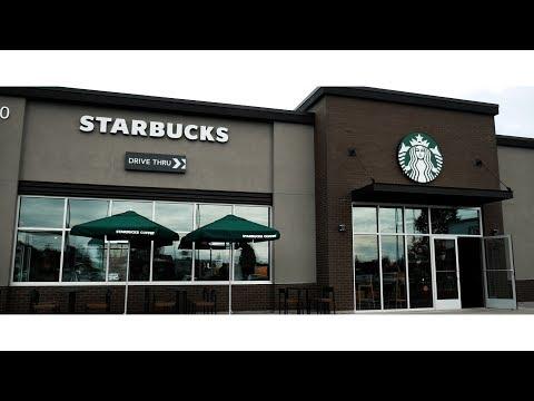 Burlington WA, Starbucks Grand Opening